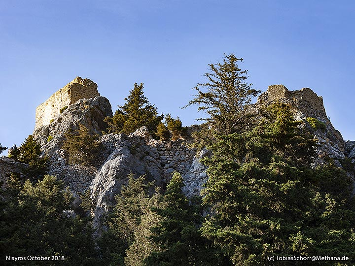 The castle of Palia Pyli on Cos. (Photo: Tobias Schorr)