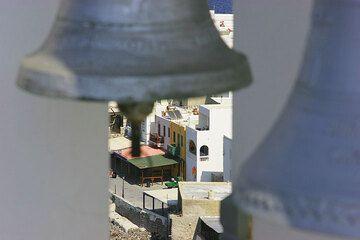 Glocken im Turm von Agias Spilianis (Mandraki) (c)