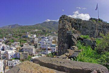 Ruinen der Burg von Mandraki, Nisyros (c)