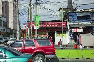 Rue au Guatemala City (Photo: Tom Pfeiffer)