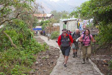 Le debut du chemin pour le Pacaya (Photo: Tom Pfeiffer)
