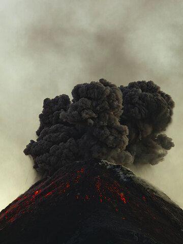Explosion from Fuego volcano, Guatemala (Photo: Tom Pfeiffer)