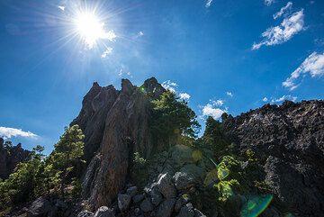Part of the 1818 lava dome complex of Cerro Quemado. (Photo: Tom Pfeiffer)