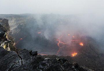 Kilauea volcano (Hawaii): Sep 2016 tour - miscellaneous (Photo: Tom Pfeiffer)