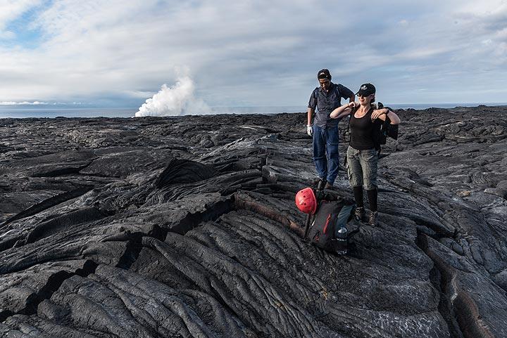 Kilauea volcano (Hawaii): tour photos (March 2017) (Photo: Tom Pfeiffer)
