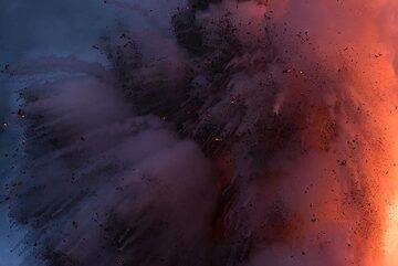 Morning explosion. (Photo: Tom Pfeiffer)