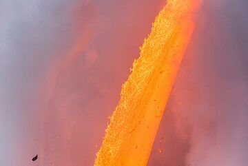 The fire hose (Photo: Tom Pfeiffer)