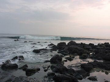 Extension day 1: Sunset mood at the Kona shores (Photo: Ingrid Smet)