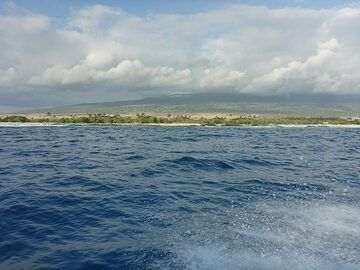 Extension day 2: View across to the western coastline of the Big Island (Photo: Ingrid Smet)