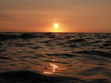 Extension day 2: The sun sets once more magnificently into the Pacific ocean around Hawaii (Photo: Ingrid Smet)