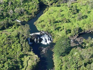 Extension day 3: Waterfalls north - northwest of the town of Hilo (Photo: Ingrid Smet)