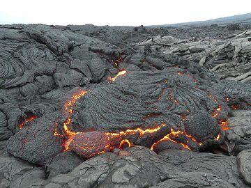 Active lava flow (Photo: Ingrid Smet)