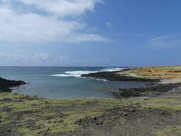 On day 4 we leave early from Hilo and drive down to the southernmost point of the Big Island (and thereby the United States) (Photo: Ingrid Smet)