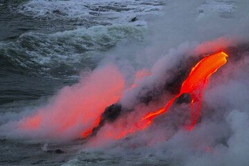 Some impressions from Kilauea taken by Yashmin during our latest Round-The-World volcano tour in April 2013. (Photo: Yashmin Chebli)