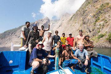 Some impressions from our latest expedition to Batu Tara volcano in November 2014. See also: Eruption & volcano photos Batu Tara (Photo: Tom Pfeiffer)