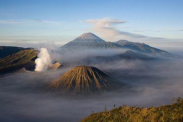 The Tengger caldera after sunrise (c)