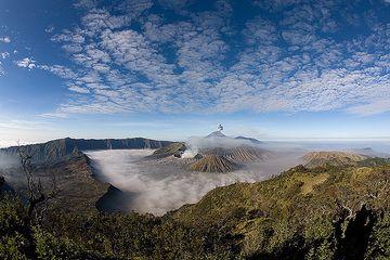 The Tengger caldera in the morning (c)