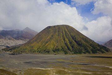 The perfect cone of Batok volcano (c)