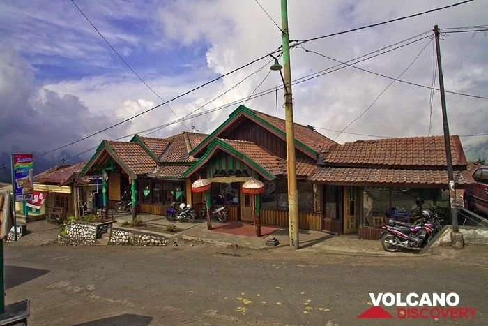 The Lava café at the Tengger caldera (Photo: Tobias Schorr)