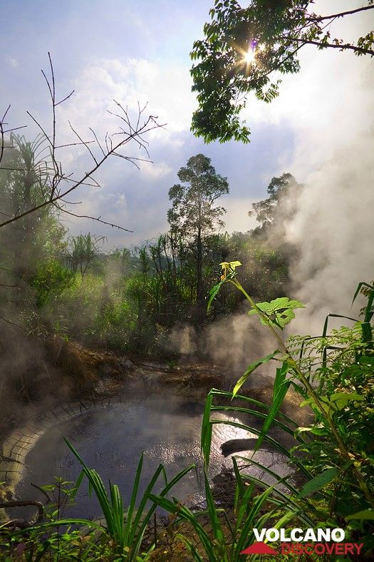 Boiling mud pool at Cipanas (Photo: Tobias Schorr)