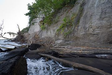 Pumice and ash deposits from the 1883 eruption of Krakatau (Photo: Tom Pfeiffer)