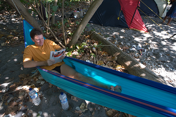Frank relaxing in the hammock (c)