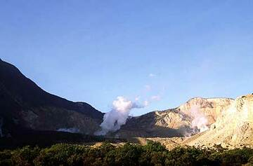 Der Krater des Papandayan (Photo: Tom Pfeiffer)