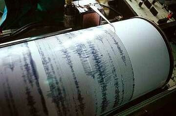 Seismogram showing activity of Semeru volcano (Photo: Tom Pfeiffer)