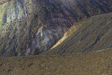 View towards the older Fossa I rim (Photo: Tom Pfeiffer)