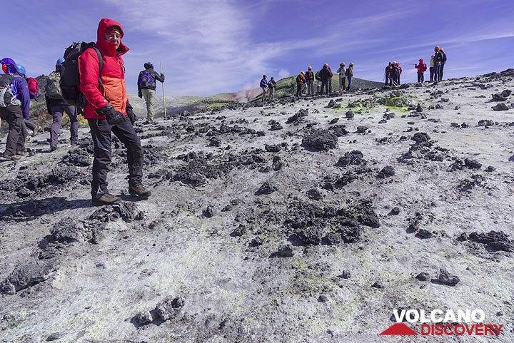 Bocca Nuova crater rim (Photo: Tom Pfeiffer)