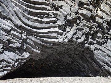 The basalti cloumns in Cantara gorge. (Photo: Tobias Schorr)