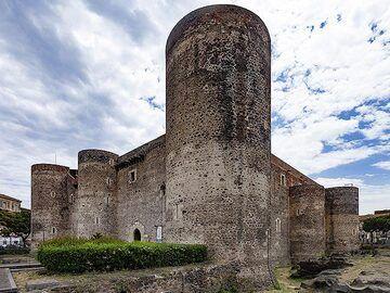 Castello Ursino in Catania. (Photo: Tobias Schorr)