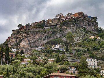 Castelmola at Taprmina. (Photo: Tobias Schorr)