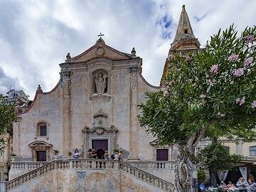 Church San Giuseppe in Taormina. (Photo: Tobias Schorr)