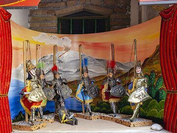 Typical marionettes from Taormina. (Photo: Tobias Schorr)