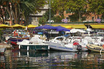 Yacht harbour of Naples (c)