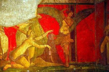 Fresco in the Villa dei Misteri, Pompeii pompeii_e2568.jpg (Photo: Tom Pfeiffer)