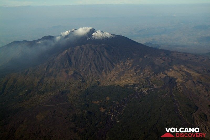 Good bye Etna!  (Northern side from airline) (Photo: Marco Fulle)