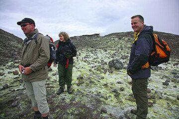 Daniel, Inès and Andy on Bocca Nuova (Photo: Tom Pfeiffer)