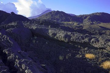 A large lava channel near the eruptive fissure looks almost as if from last week. (Photo: Tom Pfeiffer)