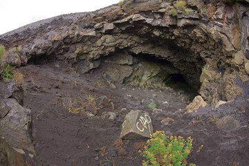 The entry to the Grotta del Gelo (Photo: Tom Pfeiffer)