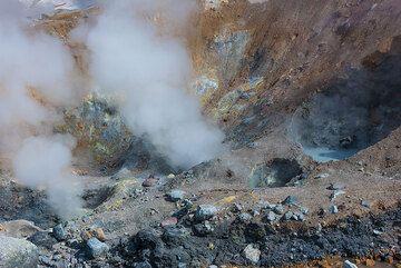 Steam vents. (Photo: Tom Pfeiffer)