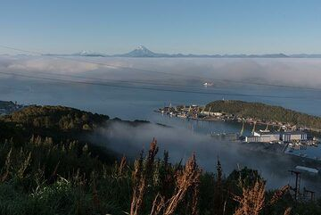 18 Sep: early morning view over the Avachinsky Bay. (Photo: Tom Pfeiffer)