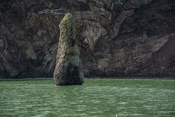 Pillar of volcanic rock (Photo: Tom Pfeiffer)