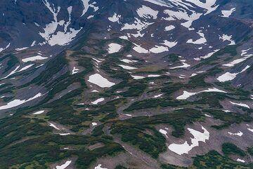 Snow patches (Photo: Tom Pfeiffer)