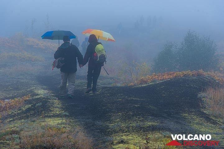 Walking in the mist (Photo: Tom Pfeiffer)