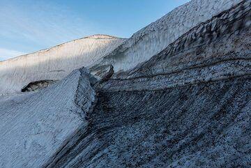 Collapsed ice cave (Photo: Tom Pfeiffer)