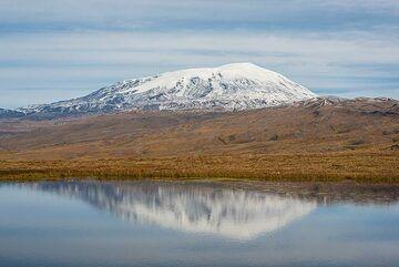 Ushkovsky volcano. (Photo: Tom Pfeiffer)
