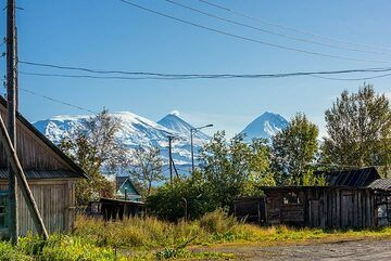 Kozyrevsk village on a beautiful September morning (13 Sep 2019) (Photo: Tom Pfeiffer)