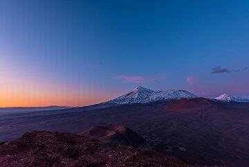 Tolbachik at sunset (Photo: Tom Pfeiffer)